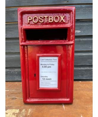 Cast Iron - Post Box Red