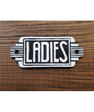Cast Iron - Ladies Sign