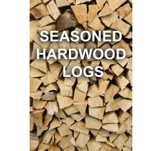 Seasoned Hardwood Logs (Loose)