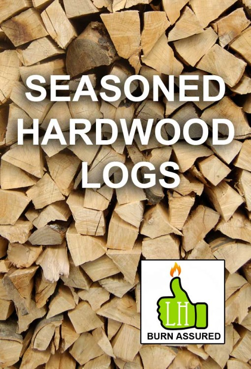 Seasoned Hardwood Logs (Loose)