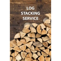 2.4m3 Log Stacking Service